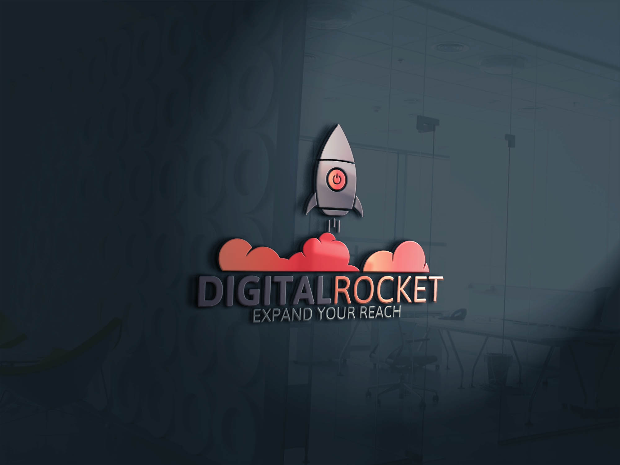 Digital Rocket Logo