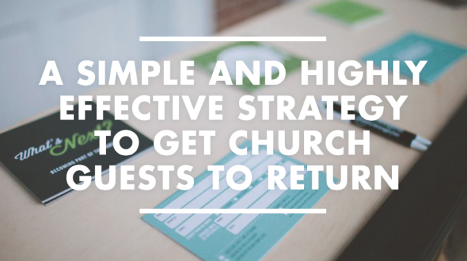 Make Your Church Guest Cards Effective