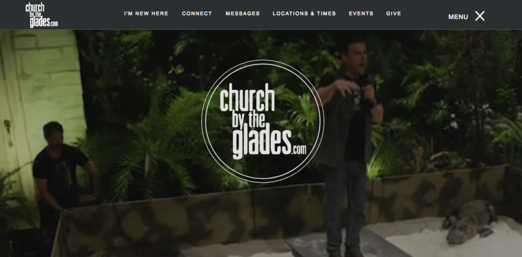 Church By The Glades Church Website. Number 10 on Best Church Websites top 10, best church websites