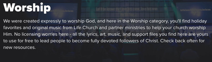 Life Church Worship
