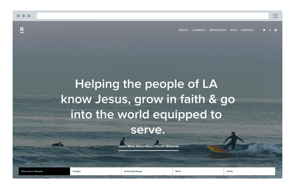 2 Things All Great Church Websites Share