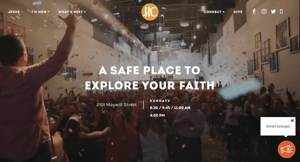 Church Website, Best church website builder